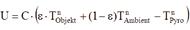Stefan Boltzmann formula